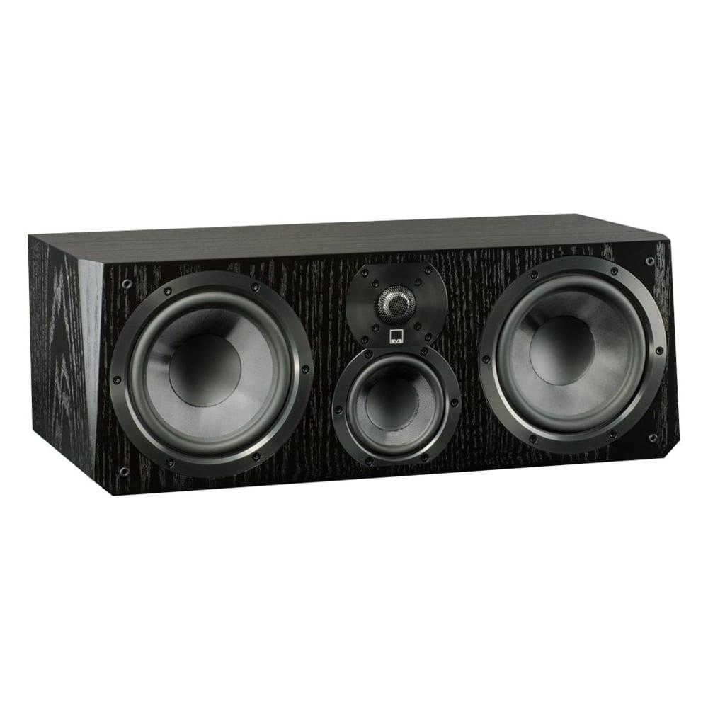 "SVS - Ultra Dual 6-1/2"" Passive 3-Way Center-Channel Speaker - Black oak"