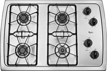 "30"" Built-In Gas Cooktop Stainless/Stainless look"