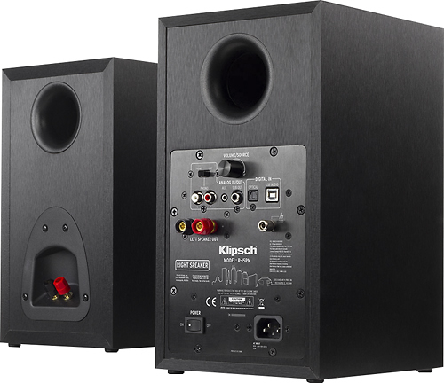"Reference 5.25"" 100W 2-Way Powered Bluetooth Monitors (Pair)"
