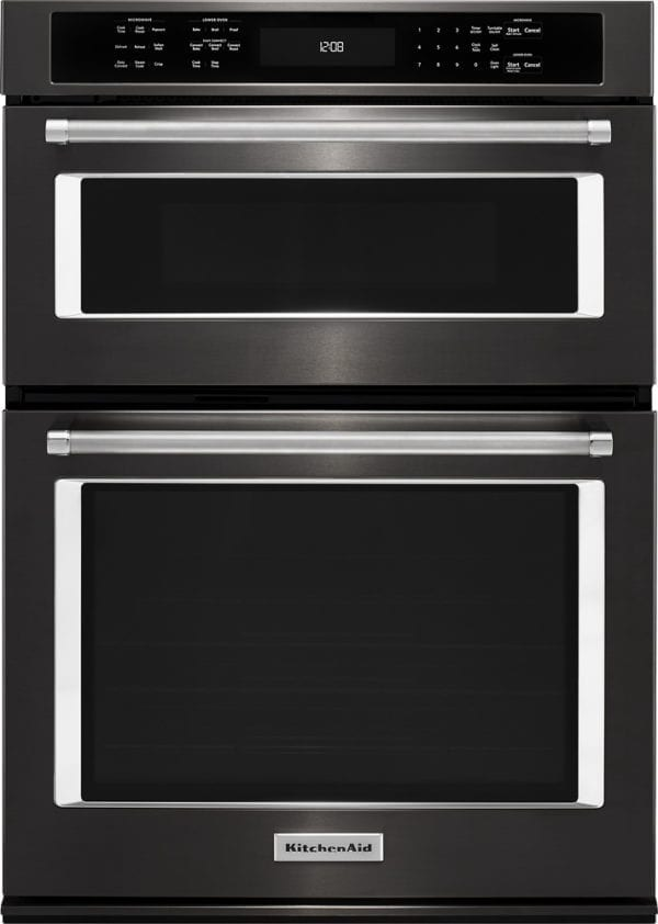 """30"""" Single Electric Convection Wall Oven with Built-In Microwave"""