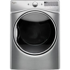 7.4 Cu. Ft. 10-Cycle Electric Dryer with Steam Diamond steel