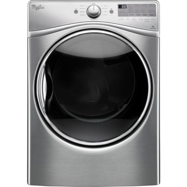 7.4 Cu. Ft. 10-Cycle Gas Dryer with Steam Diamond steel