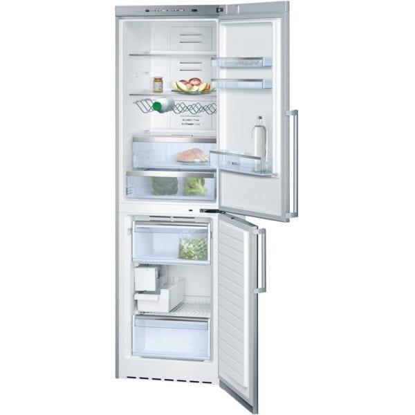 500 Series 11 Cu. Ft. Bottom-Freezer Counter-Depth Refrigerator Stainless steel