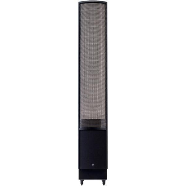 "ElectroMotion Dual 8"" Passive 2-Way Floor Speaker (Each) High-gloss black"
