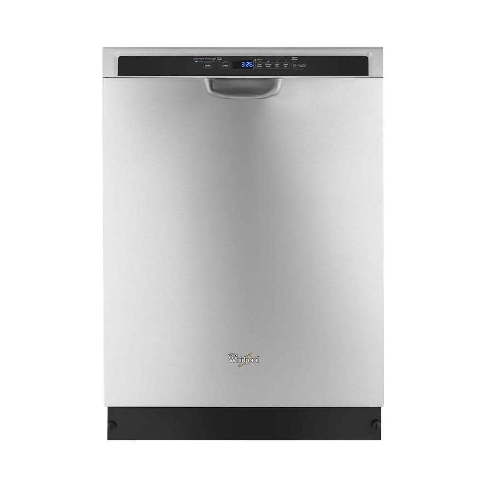 24 built in dishwasher monochromatic stainless steel