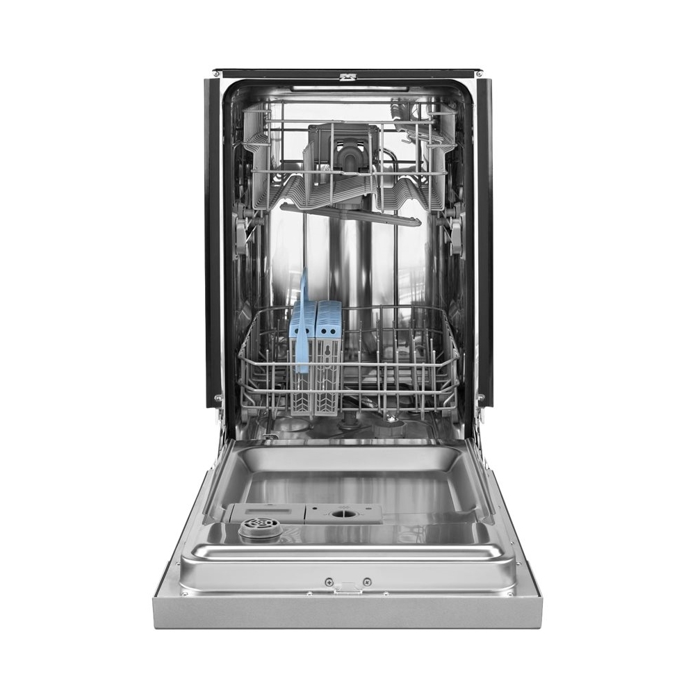 "18"" Built-In Dishwasher Monochromatic stainless steel"