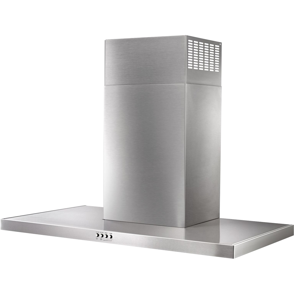 "30"" Convertible Flat Range Hood Stainless steel"