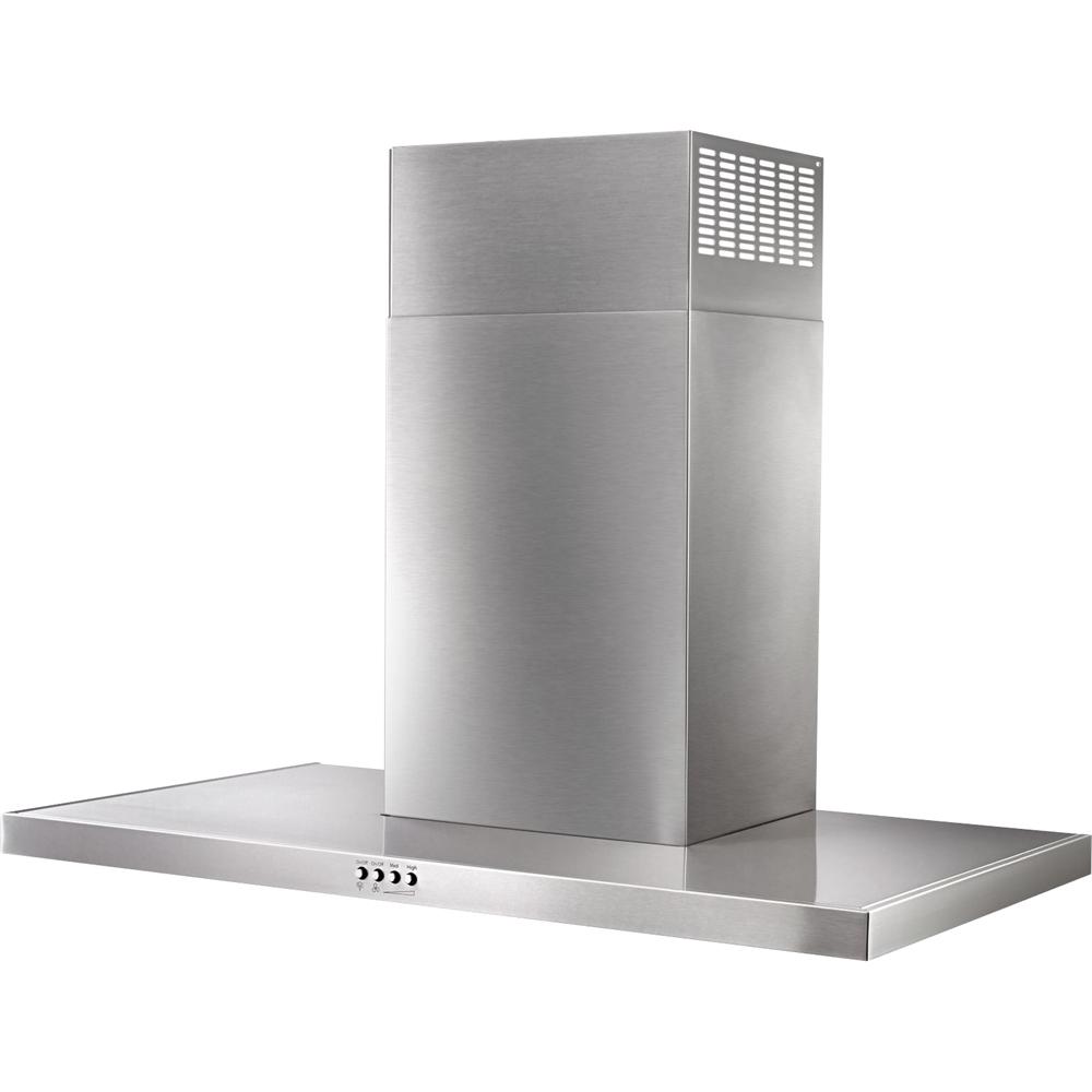 "36"" Convertible Flat Range Hood Stainless steel"