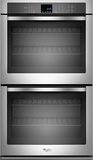 """27"""" Built-In Double Electric Wall Oven Stainless steel"""