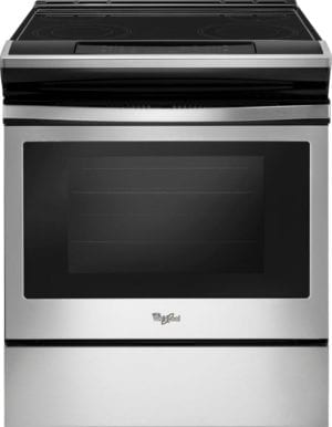 4.8 Cu. Ft. Self-Cleaning Slide-In Electric Range Stainless steel