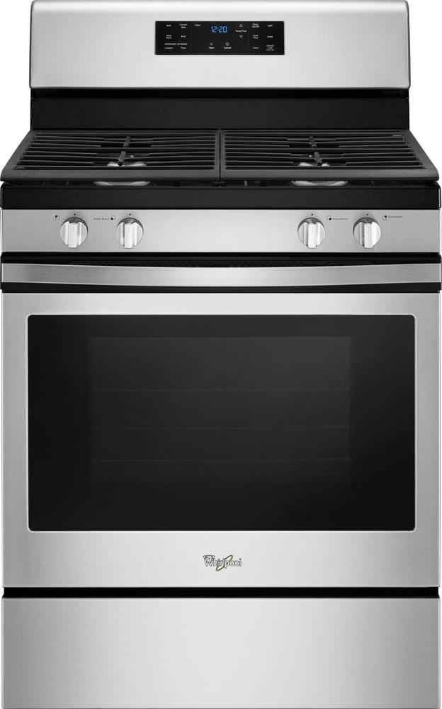 5.0 Cu. Ft. Self-Cleaning Freestanding Gas Convection Range Stainless steel