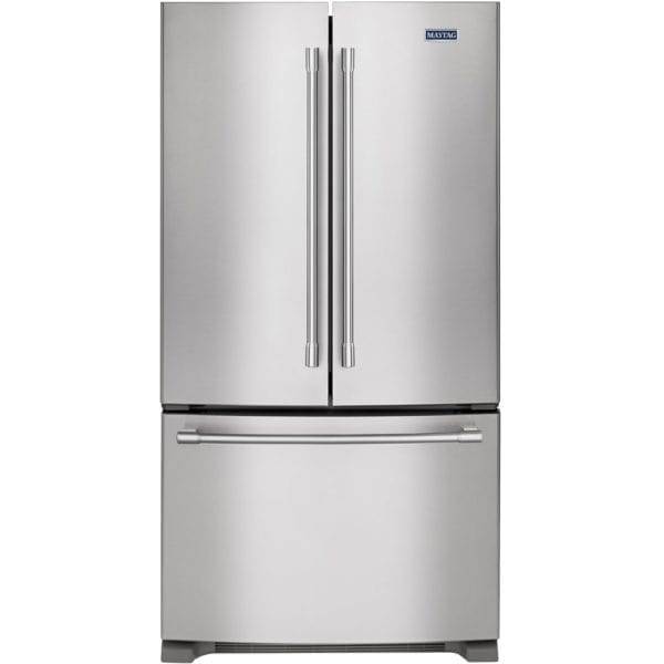 20 Cu. Ft. French Door Counter-Depth Refrigerator Stainless steel
