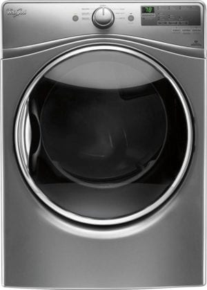 7.4 Cu. Ft. 8-Cycle Electric Dryer with Steam