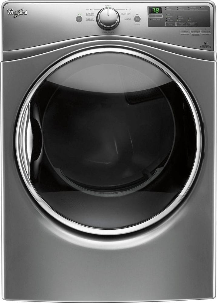 7.4 Cu. Ft. 8-Cycle Gas Dryer with Steam