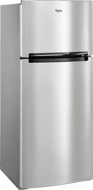 17.7 Cu. Ft. Top-Freezer Refrigerator Monochromatic Stainless Steel
