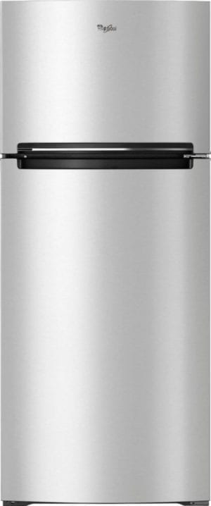 17.7 Cu. Ft. Top-Freezer Refrigerator Monochromatic Stainless Steel