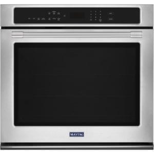 "27"" Built-In Single Electric Convection Wall Oven Stainless steel"