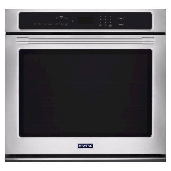 "30"" Built-In Single Electric Convection Wall Oven Stainless steel"