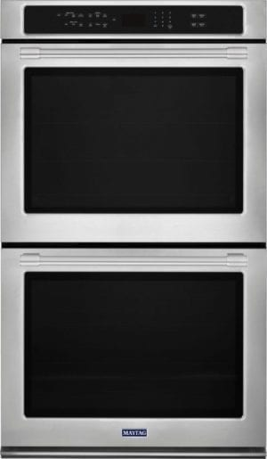 "30"" Built-In Double Electric Convection Wall Oven Stainless steel"