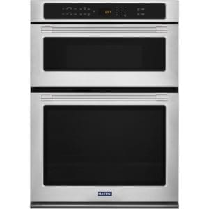 """30"""" Single Electric Convection Wall Oven with Built-In Microwave Stainless steel"""