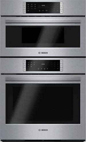 "800 Series 30"" Built-In Double Electric Convection Wall Oven with Built-In Microwave Stainless steel"