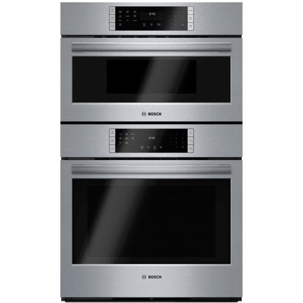 """800 Series 30"""" Single Electric Convection Wall Oven with Built-In Microwave Stainless steel"""