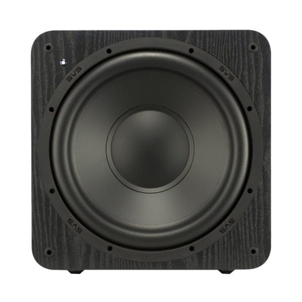 "12"" 300W Powered Subwoofer Premium black ash"