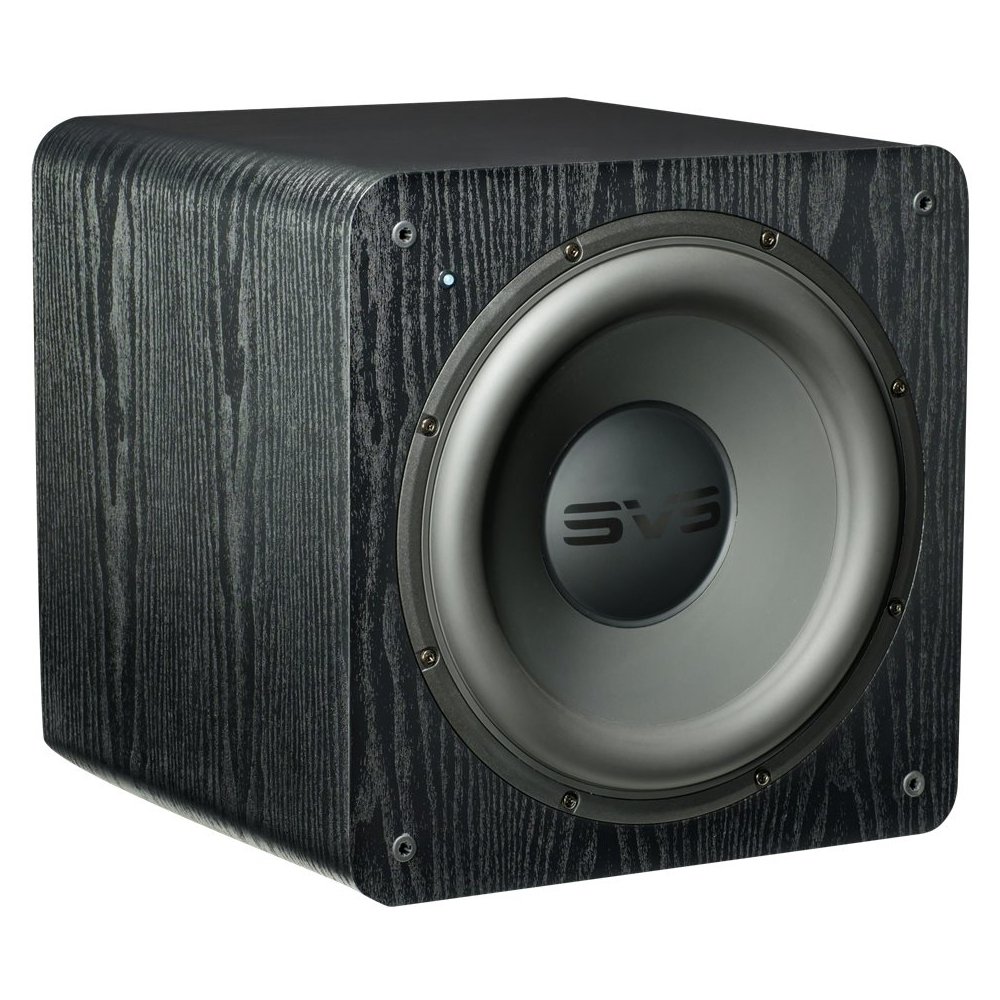 "12"" 500W Powered Subwoofer Premium black ash"