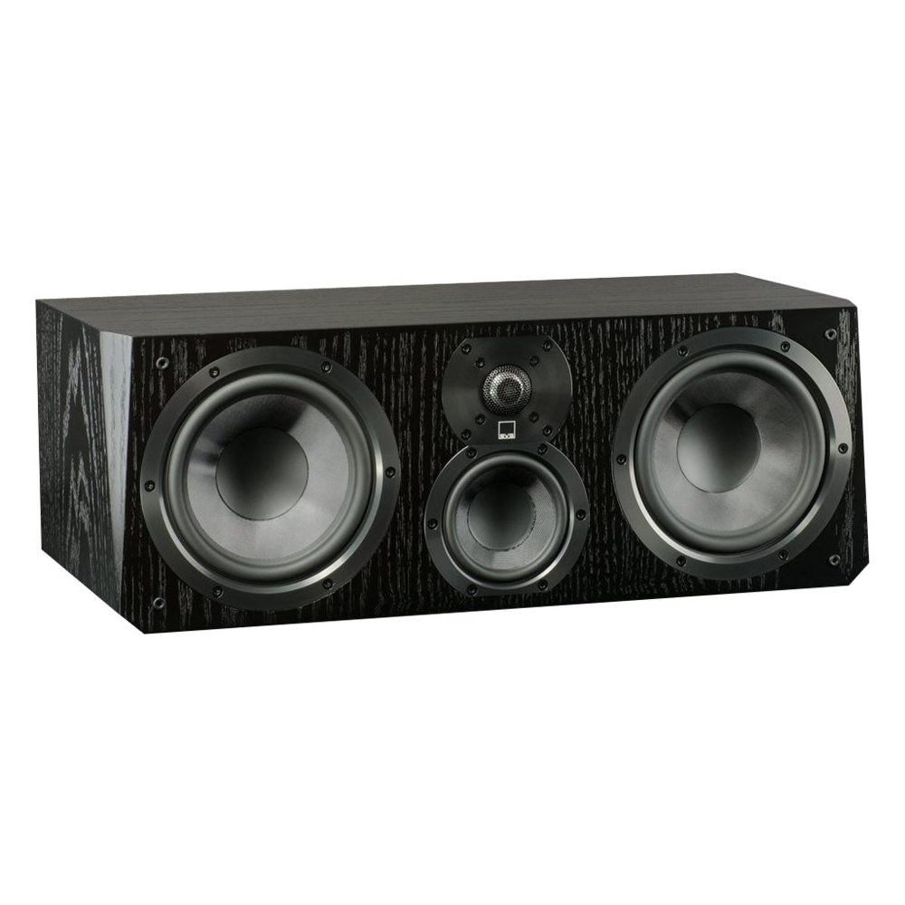 "Ultra Dual 6-1/2"" Passive 3-Way Center-Channel Speaker Black oak"