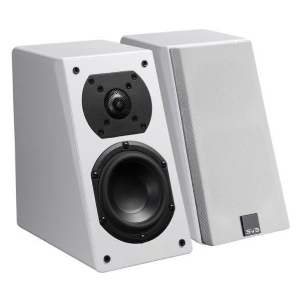 """Prime 4-1/2"""" Passive 2-Way Speakers (Pair) Piano gloss white"""
