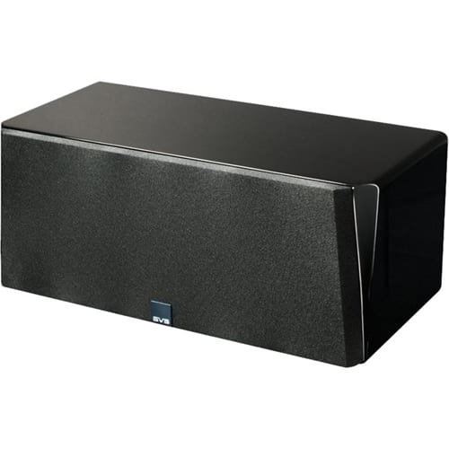 "Prime Dual 5-1/4"" Passive 3-Way Center-Channel Speaker Gloss piano black"