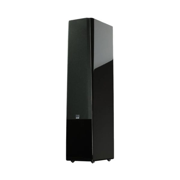 "Prime Dual 6-1/2"" Passive 3.5-Way Floor Speaker (Each) Gloss piano black"