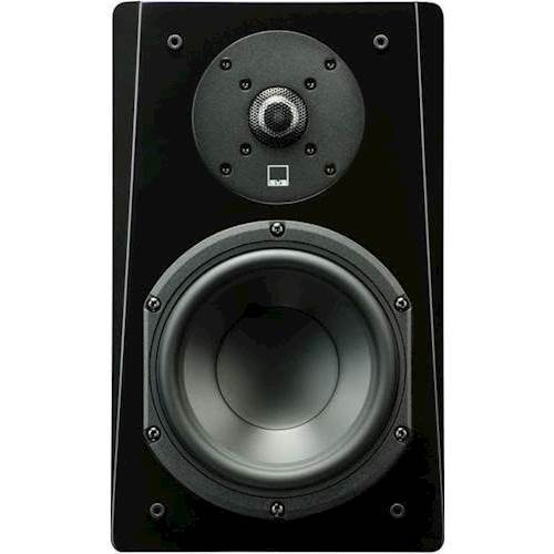 "Prime 6-1/2"" 2-Way Bookshelf Speaker (Each) Black Ash"