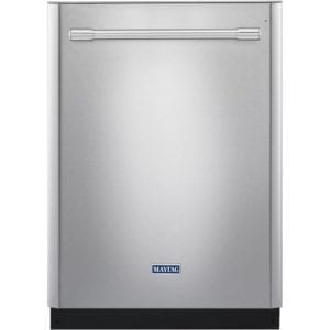 "24"" Built-In Dishwasher Fingerprint Resistant Stainless Steel"