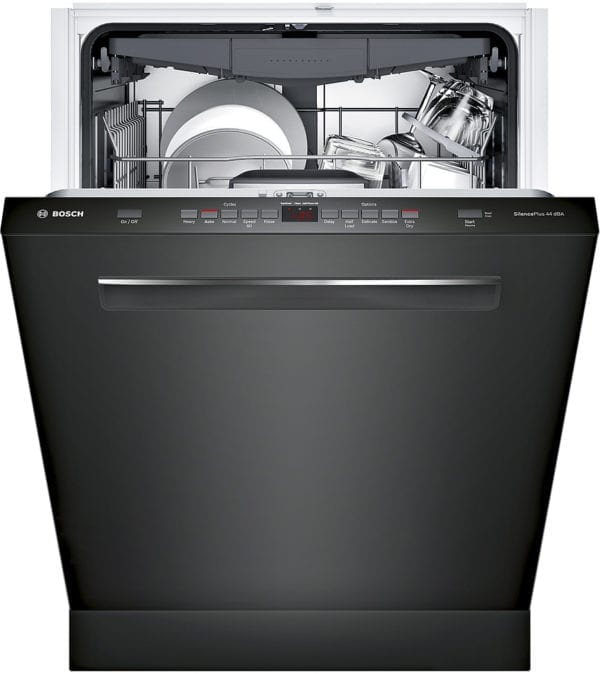 """500 Series 24"""" Pocket Handle Dishwasher with Stainless Steel Tub"""