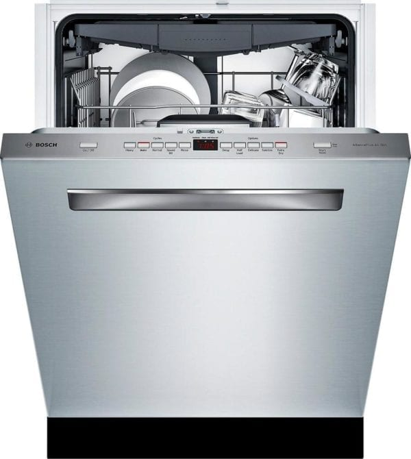 """500 Series 24"""" Pocket Handle Dishwasher with Stainless Steel Tub Stainless steel"""