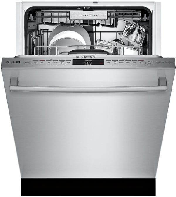 """800 Series 24"""" Bar Handle Dishwasher with Stainless Steel Tub Stainless steel"""