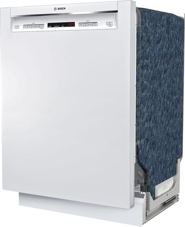 """300 Series 24"""" Recessed Handle Dishwasher with Stainless Steel Tub"""