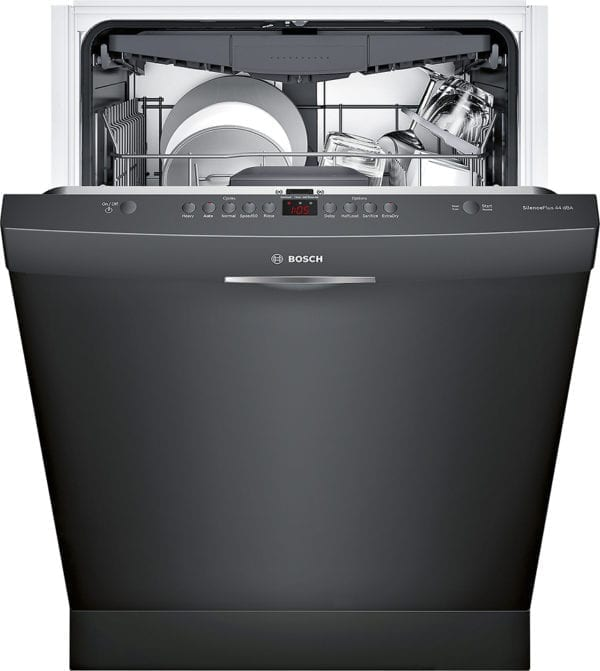 "300 Series 24"" Pocket Handle Dishwasher with Stainless Steel Tub"