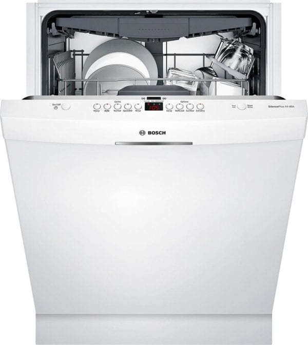 """300 Series 24"""" Pocket Handle Dishwasher with Stainless Steel Tub"""