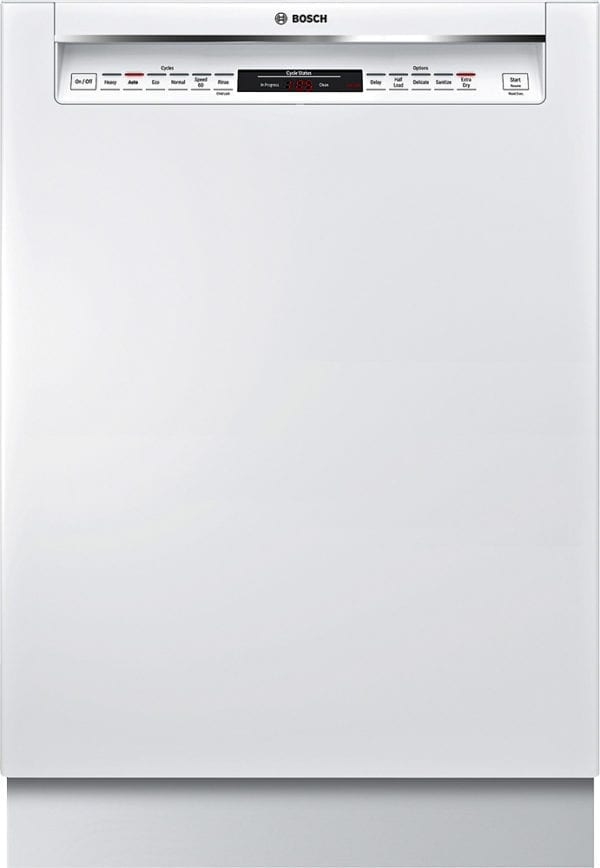 """800 Series 24"""" Recessed Handle Dishwasher with Stainless Steel Tub"""