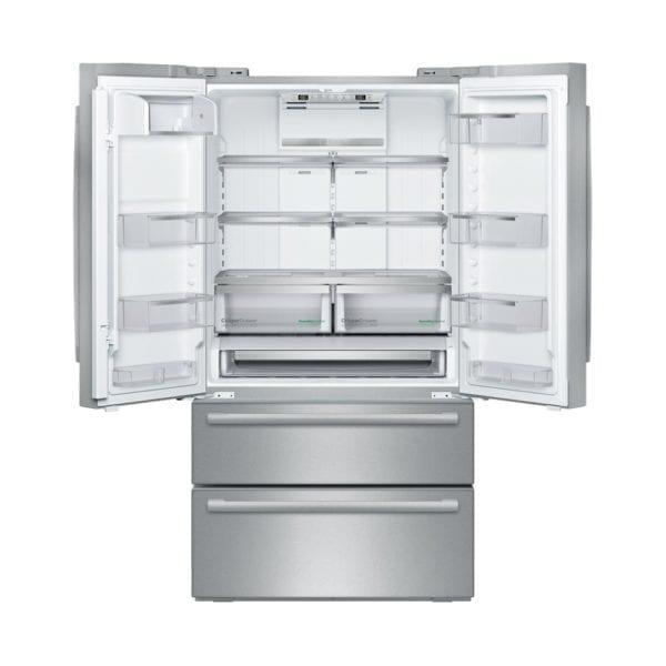 800 Series 20.7 Cu. Ft. 4-Door French Door Counter-Depth Refrigerator Stainless steel
