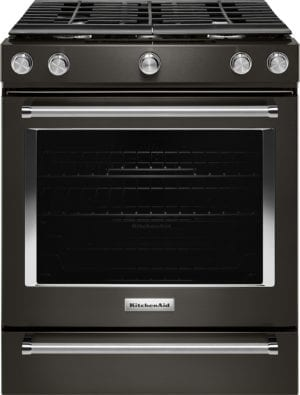5.8 Cu. Ft. Slide-In Gas Convection Range