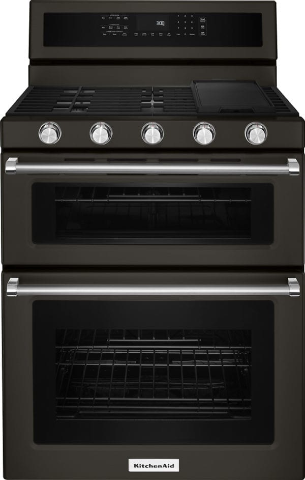 6.0 Cu. Ft. Self-Cleaning Freestanding Double Oven Gas Convection Range