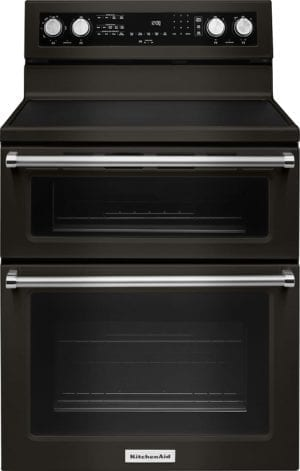 6.7 Cu. Ft. Self-Cleaning Freestanding Double Oven Electric Convection Range
