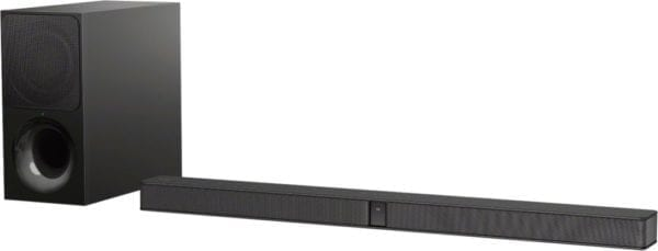2.1-Channel Soundbar System with Wireless Subwoofer and Digital Amplifier