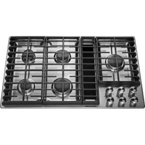"36"" Gas Cooktop Stainless steel"
