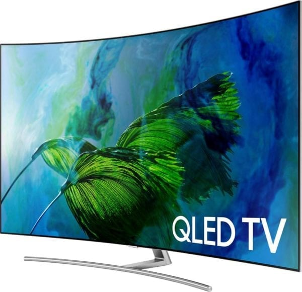"""65"""" Class LED Curved Q8C Series 2160p Smart 4K UHD TV with HDR"""