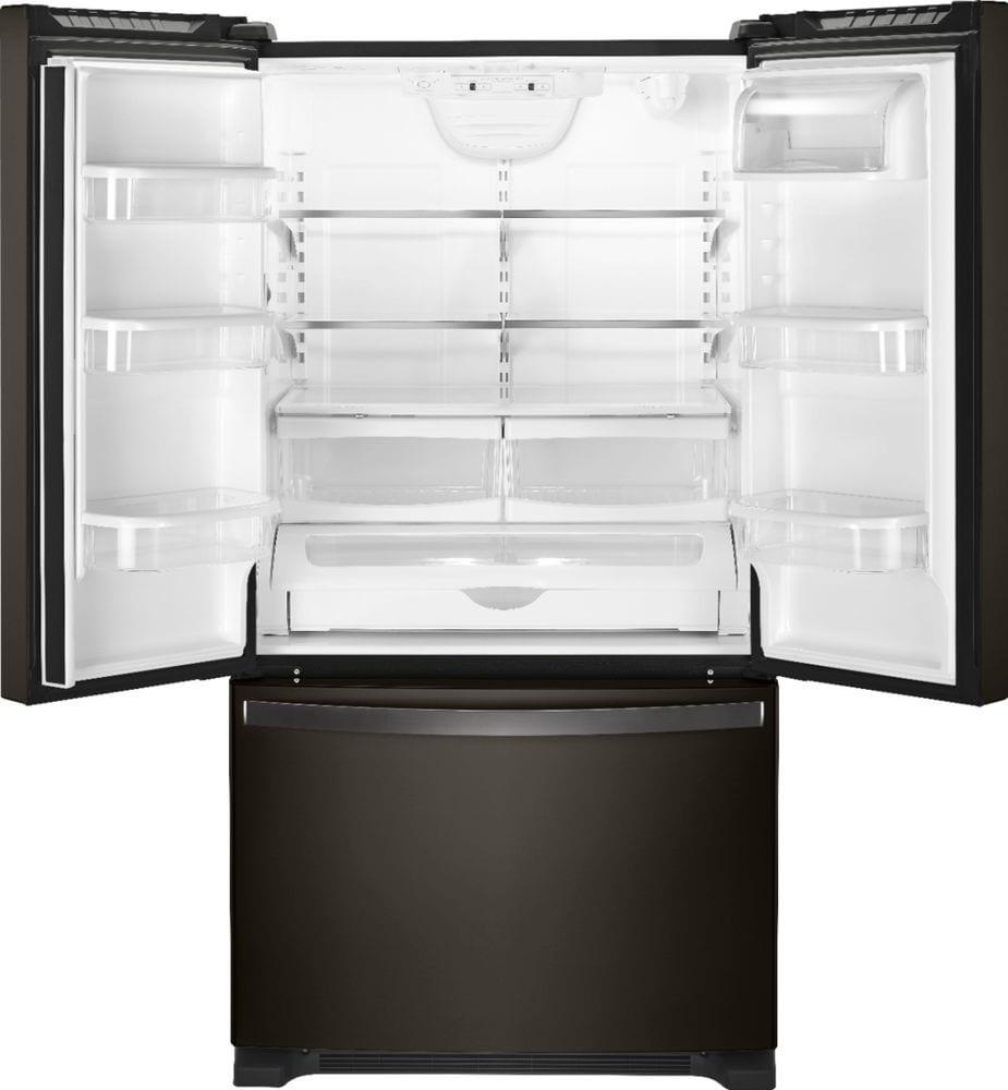 Kitchenaid Krff305ebs 25 2 Cu Ft French Door Refrigerator: 25.2 Cu. Ft. French Door Refrigerator With Internal Water