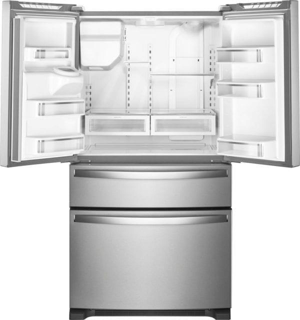 24.5 Cu. Ft. 4-Door French Door Refrigerator Stainless steel